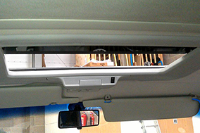Webasto 300 classic electric tilt and slide sunroof fitted to VW T4.