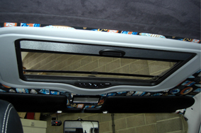 Webasto 300 deluxe electric tilt and slide fitted to VW T4.